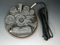 送料無料 【茶道具】電熱器・遠赤外線炭型ヒーターYU220 220V 日本製