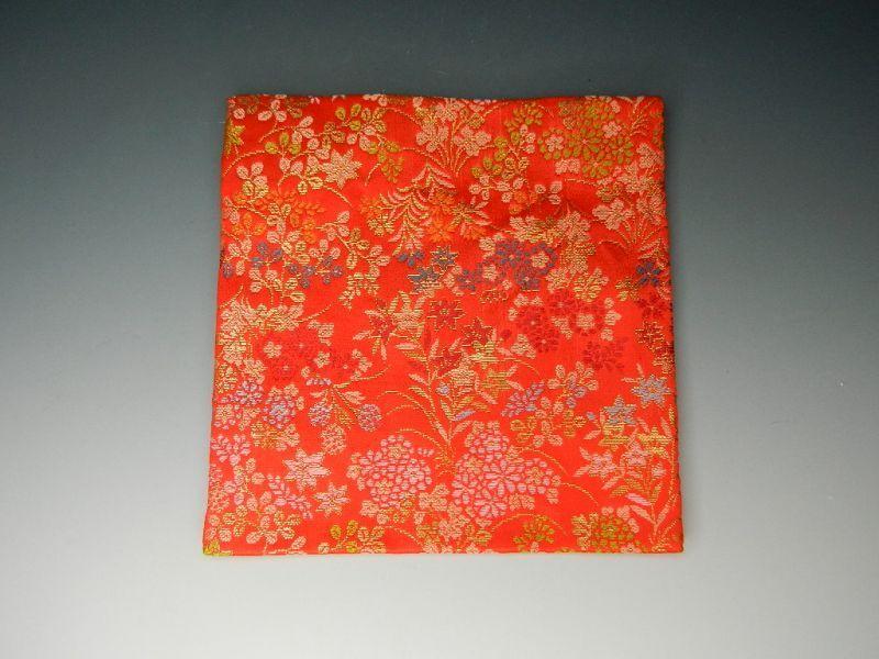 画像2: 茶道具 古袱紗(こふくさ) 交織 お色をお選べいただけます【赤・紫・ピンク】