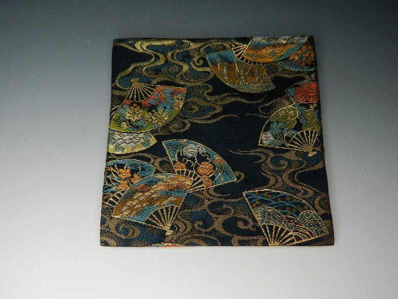 画像3: 茶道具 古袱紗(こふくさ) 交織 お色をお選べいただけます【赤・紫・ピンク】