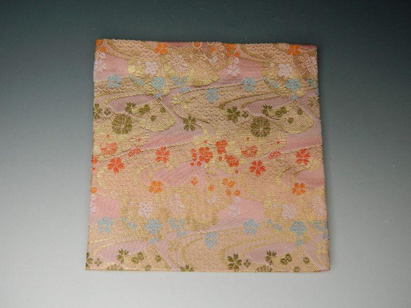 画像4: 茶道具 古袱紗(こふくさ) 交織 お色をお選べいただけます【赤・紫・ピンク】