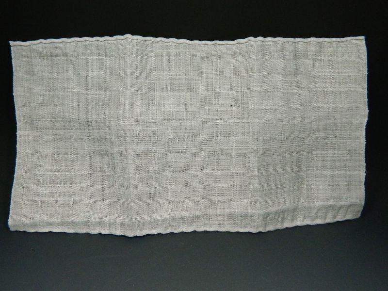 画像2: 茶巾 特上本麻茶巾 袋付き 新品