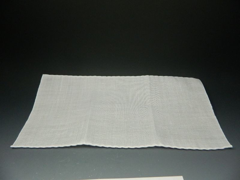 画像2: 茶巾 上奈良本麻茶巾 袋付き 新品