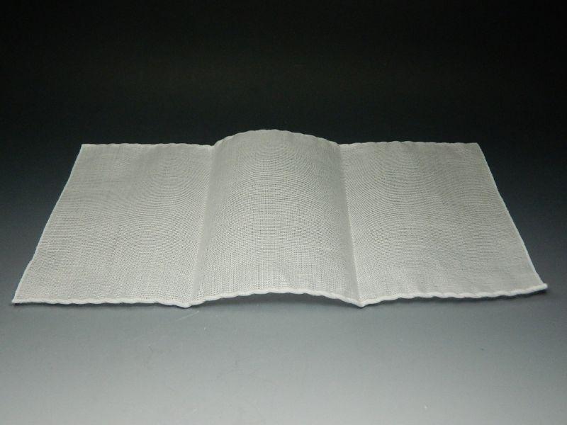 画像2: 茶巾 奈良本麻茶巾 袋付き 新品